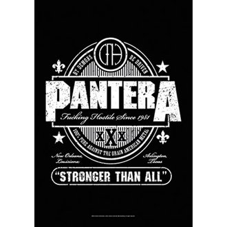 Steag Pantera - Beer Label, HEART ROCK, Pantera