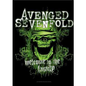 Steag Avenged Sevenfold - Welcome to the Family, HEART ROCK, Avenged Sevenfold