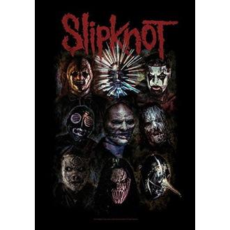 Steag Slipknot - Oxidized, HEART ROCK, Slipknot