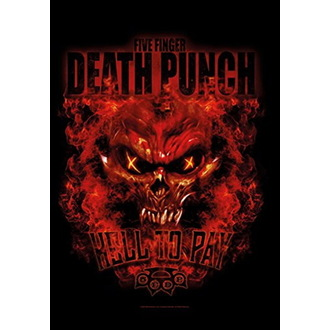 Steag Five Finger Death Punch - Hell to Pay, HEART ROCK, Five Finger Death Punch