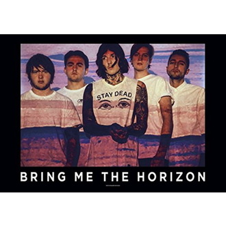 Steag Bring Me the Horizon - Press Shot, HEART ROCK, Bring Me The Horizon