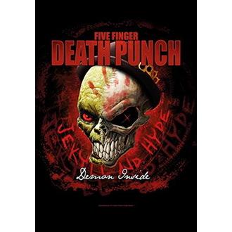 Steag Five Finger Death Punch - Dapper, HEART ROCK, Five Finger Death Punch