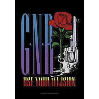 Steag Guns N' Roses - Gun, HEART ROCK, Guns N' Roses