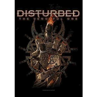 Steag Disturbed - The Vengeful One, HEART ROCK, Disturbed