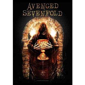 Steag Avenged Sevenfold - Golden Arch, HEART ROCK, Avenged Sevenfold