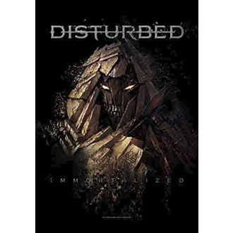 Steag Disturbed - Shattered, HEART ROCK, Disturbed