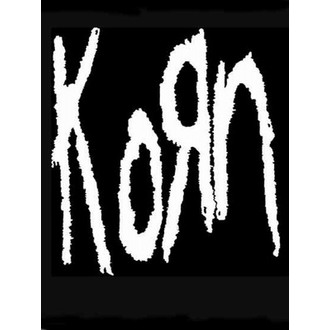 Steag  KORN - Band Logo, HEART ROCK, Korn