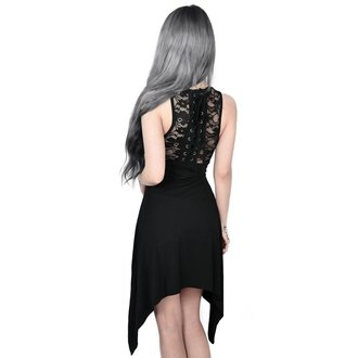 Rochie damă KILLSTAR - ILLUSION LACED UP - BLACK, KILLSTAR