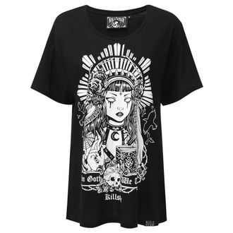 Tricou damă KILLSTAR - In Goth We Trust Relaxed