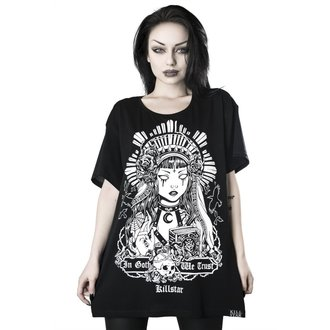 Tricou damă KILLSTAR - In Goth We Trust Relaxed, KILLSTAR