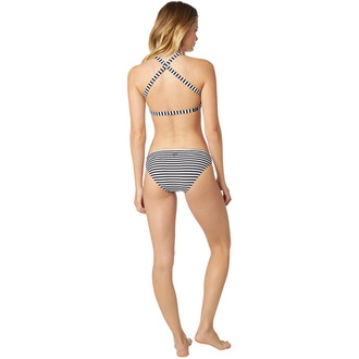Bikini damă FOX - Jail Break - Halter - Black / White, FOX