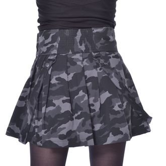 Fustă damă HEARTLESS - JANICE SKIRT - GREEN CAMO, HEARTLESS