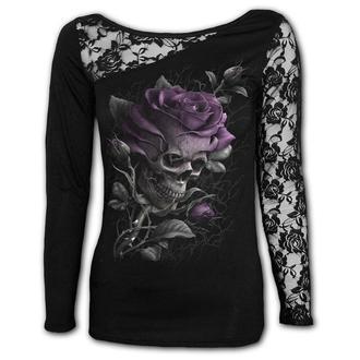 tricou femei - SKULL ROSE - SPIRAL, SPIRAL