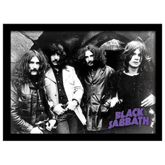 Poster înrămat  Black Sabbath - Photo - PYRAMID POSTERS, PYRAMID POSTERS, Black Sabbath