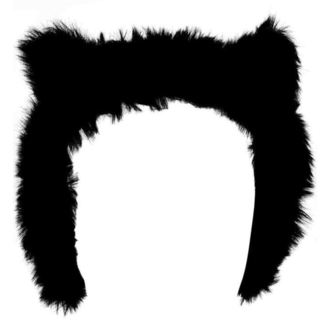 Apărătoare urechi KILLSTAR - Le Chat Noir Ear Muffs, KILLSTAR
