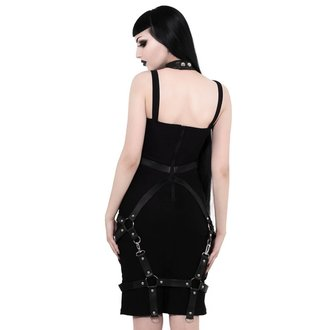 Rochie damă KILLSTAR - Locked Away - BLACK, KILLSTAR