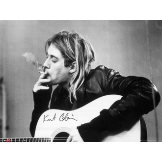 poster - Nirvana - Kurt Cobain - fumat - LP1151, GB posters, Nirvana