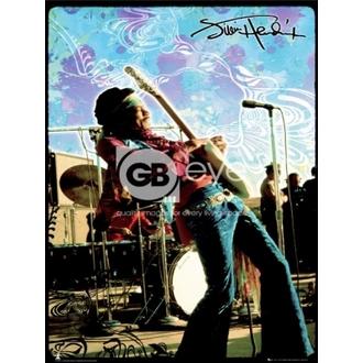 poster - JIMI HENDRIX trăi - LP1270, GB posters, Jimi Hendrix