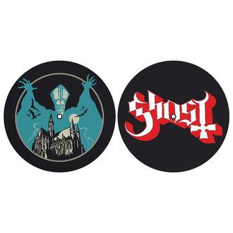 Pad Gramofon (set de 2pcs) GHOST - OPUS EPONYMOUS - LOGO - RAZAMATAZ, RAZAMATAZ, Ghost