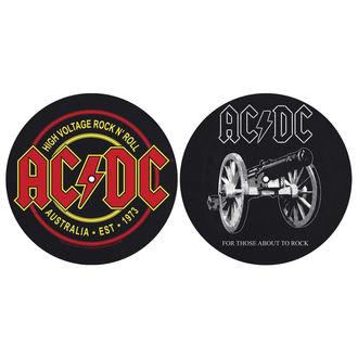 Pad Gramofon (set de 2pcs) AC / DC - FOR THOSE MOUT TO ROCK - HIGH VOLTAGE - RAZAMATAZ, RAZAMATAZ, AC-DC