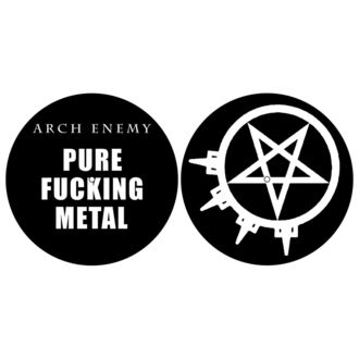 Pad Gramofon (set de 2pcs) ARCH ENEMY - PURE FUCKING METAL - RAZAMATAZ, RAZAMATAZ, Arch Enemy