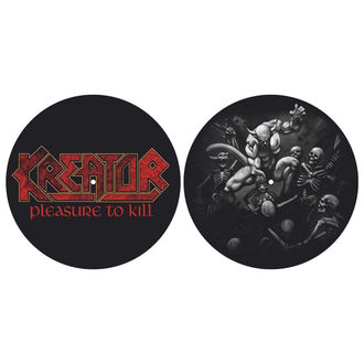 Pad Gramofon (set de 2pcs)  KREATOR - PLEASURE TO KILL - RAZAMATAZ, RAZAMATAZ, Kreator