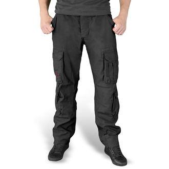 Pantaloni bărbaţi SURPLUS - AIRBORNE - SLIMMY SCHWARZ, SURPLUS