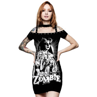 Rochie damă KILLSTAR - Rob Zombie - Lust For Death - BLACK, KILLSTAR, Rob Zombie