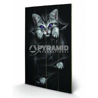 de lemn imagine Spirală (Luminos Ochi) - Pyramid Posters, SPIRAL