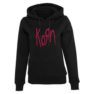 hanorac cu glugă femei Korn - Logo - NNM, NNM, Korn