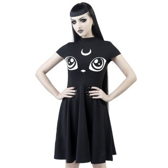 Rochie damă KILLSTAR - Meowgical - BLACK, KILLSTAR