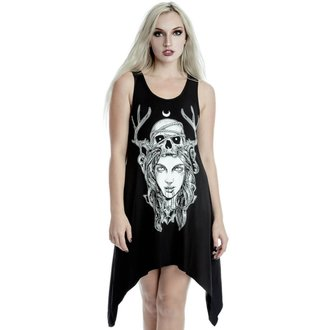 Rochie damă (tunică) KILLSTAR - Moon Magic - BLACK, KILLSTAR