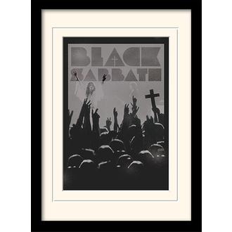 Poster înrămat r Black Sabbath - (&&string0&&) - PYRAMID POSTERS, PYRAMID POSTERS, Black Sabbath