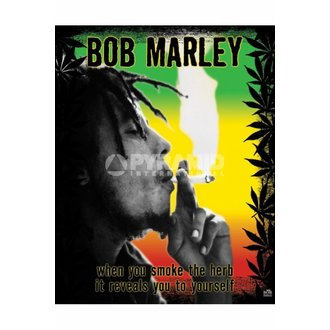 poster Bob Marley (iarbă) - MPP50071, PYRAMID POSTERS, Bob Marley