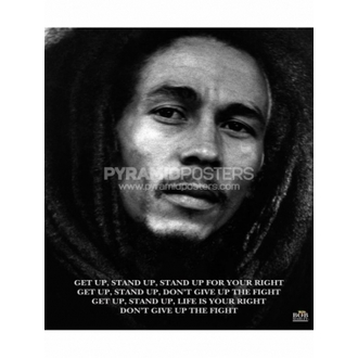 Poster - Bob Marley (obține Sus, Stand Sus) - MPP50072, PYRAMID POSTERS, Bob Marley