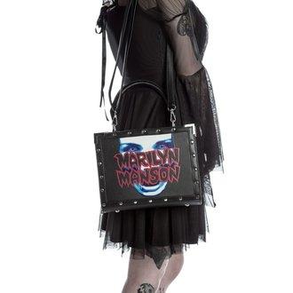 Geantă de mână (poşetă) KILLSTAR - MARILYN MANSON - My Metal - Black, KILLSTAR, Marilyn Manson