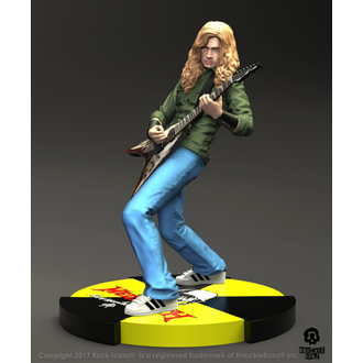 Figurină/ Statuie Megadeth - Dave Mustaine - Rock Iconz Statue, Megadeth