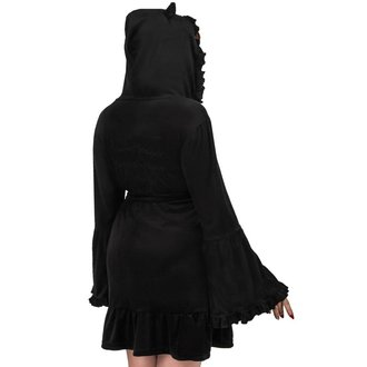 Halat de baie damă KILLSTAR - NIGHT MARRY - BLACK, KILLSTAR