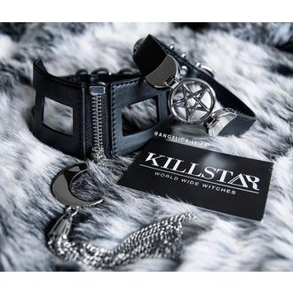 Lesă KILLSTAR - Nikky Choker - Black, KILLSTAR