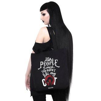 Poșetă (geantă de mână) KILLSTAR - People Suck - BLACK, KILLSTAR