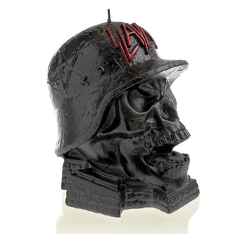 Lumânare SLAYER - WEHRMACH - BLACK METALLIC - PLASTIC HEAD, PLASTIC HEAD, Slayer