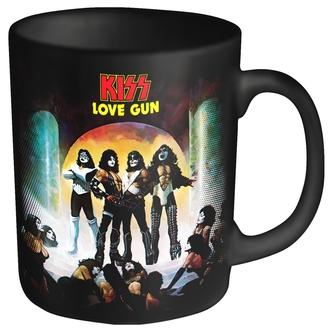 Cană KISS - LOVE GUN - PLASTIC HEAD, PLASTIC HEAD, Kiss
