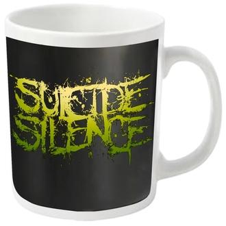 Cană SUICIDE SILENCE - LOGO - PLASTIC HEAD, PLASTIC HEAD, Suicide Silence