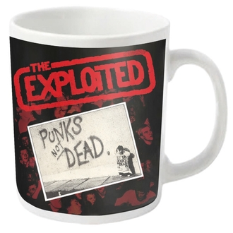 Cană EXPLOITED - PUNKS NOT DEAD - PLASTIC HEAD, PLASTIC HEAD, Exploited