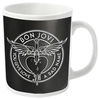 Cană BON JOVI - BAD NAME - PLASTIC HEAD, PLASTIC HEAD, Bon Jovi