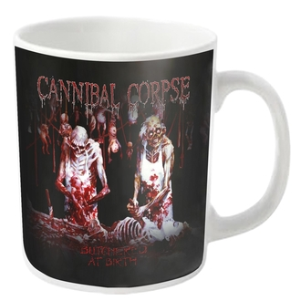 Cană CANNIBAL CORPSE - BUTCHERED - White - PLASTIC HEAD, PLASTIC HEAD, Cannibal Corpse