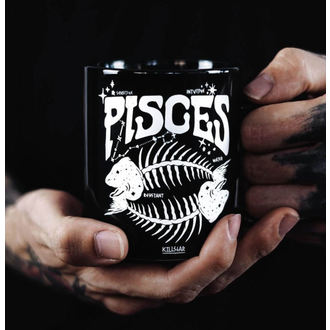 Cană KILLSTAR - Pisces -BLACK, KILLSTAR