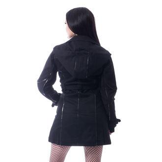 Palton damă CHEMICAL BLACK - CANAL - BLACK, CHEMICAL BLACK