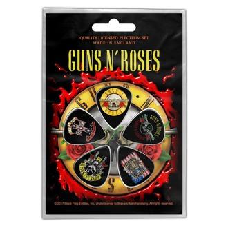 Pene chitară Guns N' Roses - Bullet Logo - RAZAMATAZ, RAZAMATAZ, Guns N' Roses