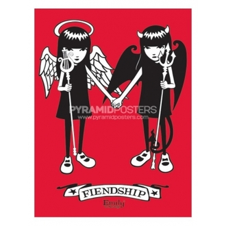 Poster - Emily The Ciudat (Fiendship)- PP31164, EMILY THE STRANGE